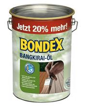 Bild zu Bondex Bangkirai Öl (Holzöl, 4,8 Liter) für 34,95€ (Vergleich: 53,38€)