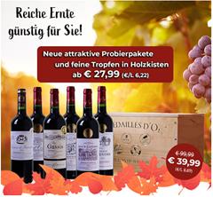 Bild zu Weinvorteil: 15% Rabatt auf alle Weine (auch auf bereits reduzierte)