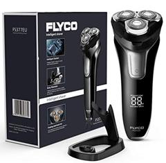 Bild zu FLYCO Nass- und Trockenrasierer (wasserdicht, LED Anzeige) für 28,99€
