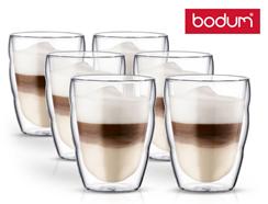 Bild zu Bodum Pilatus Gläser (doppelwandig, 0,25 l Transparent, 6-teilige) für 30,90€ (Vergleich: 38,90€)