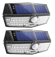 Bild zu Mpow Solar Leuchte mit 30 LEDs (IPX6 + Wasserdicht) für 9,98€ oder Doppelpack für 19,69€