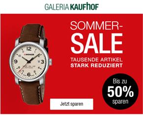 Galeria Kaufhof: 15% Rabatt auf (fast) alles ›