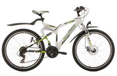 Bild zu KS Cycling Mountainbike ATB 26 Zoll Zodiac weiß-grün 329M für 152,91€ (Vergleich: 213,29€)