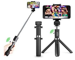 Bild zu Bluetooth Selfie Stick (für iPhone X/8/7 & Samsung Galaxy 3.5-6 Zoll Bildschirm) für 7,92€