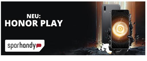 Bild zu Blau Allnet Flat L (3GB LTE Daten + Allnet Flat + SMS Flat) inkl. Honor Play (einmalig 49€) für 14,99€/Monat