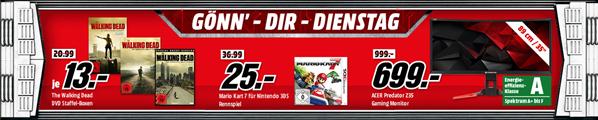 """Bild zu MediaMarkt """"Gönn´ dir Dienstag"""": Filme, Games und z.B. auch Monitore"""