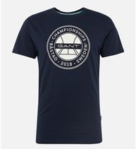 Bild zu GANT Herren T-Shirt 'Bastad' für je 29,90€ (Vergleich: 44,94€)
