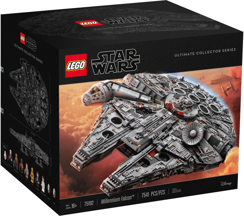 Bild zu Lego Star Wars Millennium Falcon Ultimate Collector Series (75192) für 652,49€ (Vergleich: 722,49€)