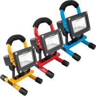 Bild zu NINETEC 10 W LED-Akku-Flutlichtstrahler für 19,99€ inkl. Versand (Vergleich: 29,94€)