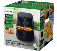 PHILIPS HD 9621 90 Airfryer Turbostar Fritteuse, Schwarz