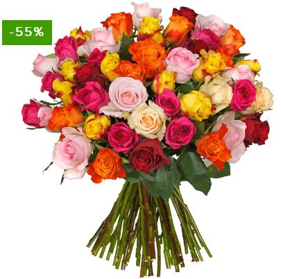 """Bild zu BlumeIdeal: 45 """"ShinyRoses"""" für 24,94€ inkl. Versand"""