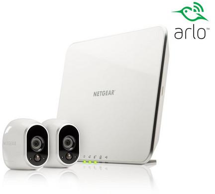 Bild zu Netgear Arlo VMS3230 Sicherheitssystem mit 2 Kameras für 205,90€ (Vergleich: 245,90€)
