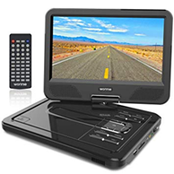 WONNIE 10 5 Tragbarer DVD-Player, Schwenkbaren Amazon de Elektronik