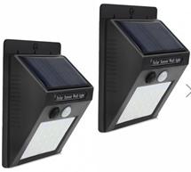 Bild zu Wireless Motion Sensor-Solarlicht Wandleuchte für 7,99€