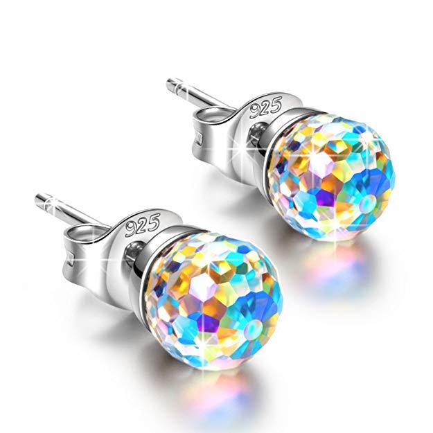 Bild zu [Prime] Alex Perry Fantastische Welt Silber-Ohrringe mit Swarovski Steinen für 9,99€