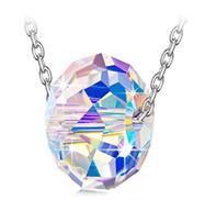 Alex Perry 925 Sterling Silber Anhänger Kette Damen mit Swarovski Kristall Halskette Geschenke