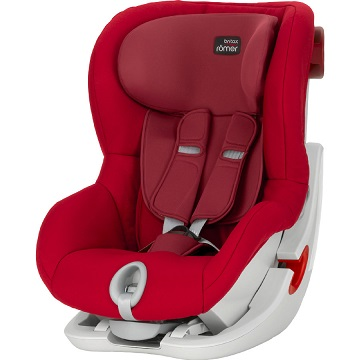 Bild zu Britax Römer Kindersitz King II Flame Red für 149,99€ (Vergleich: 174,99€)