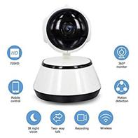 Bild zu Decdeal 720P Überwachungskamera mit Nachtsicht, 2-Wege Audio für 20,99€
