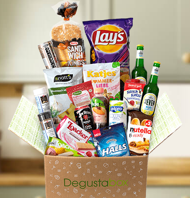 Bild zu Degusta Box: 8€ Rabatt auf die erste Bestellung (also 7,99€ statt 15,99€) und kostenloser Versand