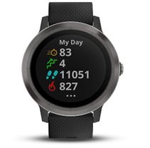 Bild zu Amazon.it: Garmin Smartwatch Vivoactive 3 Gunmetal für 170€ inkl. Versand (Vergleich: 229€)