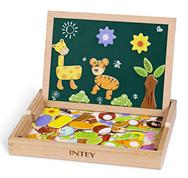 Bild zu INTEY Magnetisches Holzpuzzle (ab 3 Jahre) für 12€