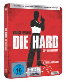 Bild zu Stirb Langsam UHD Steelbook [Blu-ray] [Limited Edition] für 18,98€ (Vergleich: 29,99€)