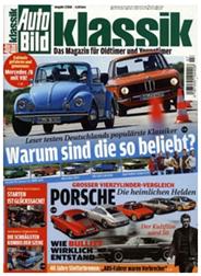 """Bild zu 3 Ausgaben der Zeitschrift """"Auto Bild Klassik"""" für 14,40€ + 14,40€ Verrechnungsscheck"""