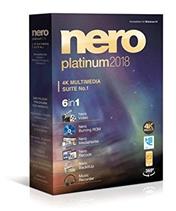 Bild zu Nero Platinum 2018 als CD-Box für Windows für 29,99€ (Vergleich: 36,99€)