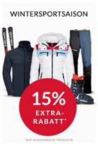 Bild zu Engelhorn Sports: 15% Rabatt auf ausgewählte Wintersport Artikel