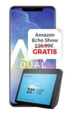 Bild zu Huawei Mate 20 Pro + Amazon Echo Show (einmalig 4,95€) mit o2 Free M Boost Tarif (20GB LTE Datenvolumen, Allnet/SMS-Flat, EU-Roaming) für 49,99€/Monat