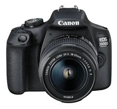 Bild zu CANON EOS 2000D Kit Spiegelreflexkamera (24.1 Megapixel, Full HD, WLAN, 18-55 mm Objektiv (EF-S, IS II), Autofokus Display) für 299€ (Vergleich: 376,13€)