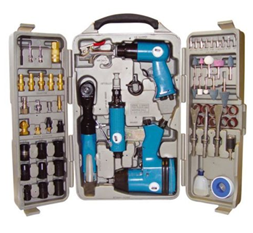 Bild zu Güde Druckluftgeräte-Set 71-teilig für 71,24€ (Vergleich: 80,99€)