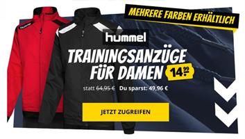 Bild zu SportSpar: verschiedene Damen Trainingsanzüge von Hummel für je 14,99€ zzgl. 3,95€ Versand