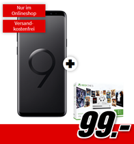 Bild zu Samsung Galaxy S9+ inkl. Xbox One S 1TB (einmalig 99€) im Telekom Tarif mit 2GB Datenflat + Allnet-Flat für 26,99€/Monat