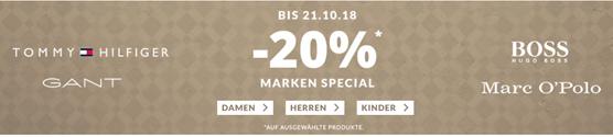 Bild zu [nur noch heute] Engelhorn: Marken Special mit 20% Rabatt auf ausgewählte Marken Artikel