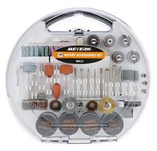 Bild zu Meterk Mehrzweck Zubehörset für Multifunktionswerkzeug (180-teilig) für 9,79€