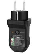 Bild zu Meterk Steckdosen-Tester (Steckdosen Detektor, EU-Typ 220V-250V, 50-60 Hz) für 6,92€
