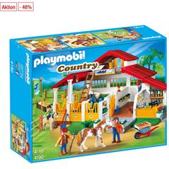 Bild zu PLAYMOBIL® Country Moderner Reiterhof 4190 für 43,94€