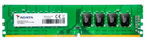 Bild zu ADATA Premier Arbeitsspeicher 4GB DDR4 2400 MT/s 288pin UDIMM für 25,49€ (Vergleich: 34,60€)