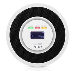 Bild zu INTEY Kohlenmonoxid Warnmelder (Elektrochemischer Sensor) für 19,99€