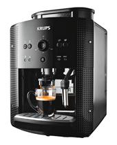 Bild zu KRUPS EA 8108 Kaffeevollautomat (1.8 Liter Wassertank, 15 bar, Schwarz) für 199€ (Vergleich: 222,90€)