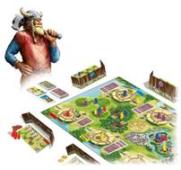 """Bild zu Queen Games Gesellschaftsspiel """"Eketorp – Die Wikingerburg"""" für 13,94€ (Vergleich: 27,77€)"""