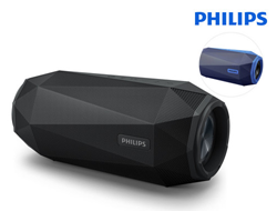 Bild zu Philips SB500 ShoqBox Bluetooth Lautsprecher (Wasserfest, LED-Licht, 30W) für je 75,90€ (Vergleich: 132€)