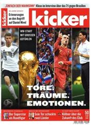 """Bild zu 3 Monate (13 Wochen) """"Kicker"""" Schnupperabo für 57,72€ + 57,72€ Verrechnungsscheck als Prämie"""