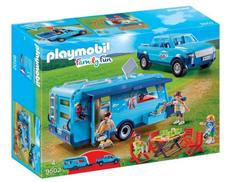 Bild zu PLAYMOBIL 9502 Pickup with Caravan für 24,99€ (Vergleich: 52,22€)