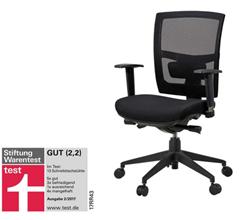 Bild zu Bürodrehstuhl Brigach (Stiftung Warentest Gut 2,2) für 142,33€