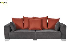 Bild zu Big Sofa Tonja (244 x 68 x 107cm) inkl. 7 Rücken- und Zierkissen für 200,33€