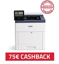 Bild zu Xerox VersaLink C600N Farblaserdrucker (A4, 1.200 x 2.400 dpi, bis zu 53 Seiten/min., Netzwerk) für 298,89€ + 75€ Cashback (Vergleich: 472,80€)