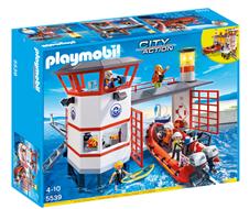 Bild zu Playmobil City Action – Küstenwachstation mit Leuchtturm (5539) für 39,99€ (Vergleich: 53€)