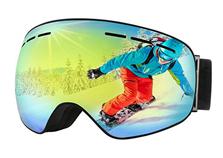 Bild zu OMORC Skibrille (Doppel-Objektiv + 100% UV-Schutz) für 14,99€